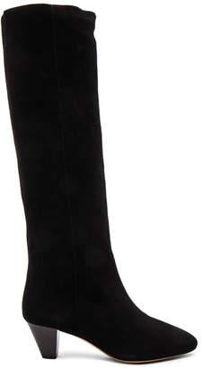 Etoile Isabel Marant Robby New Velvet Boots