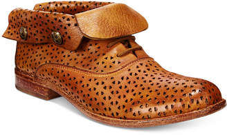 Patricia Nash Sabrina Perforated Ankle Booties Women's Shoes $229 thestylecure.com
