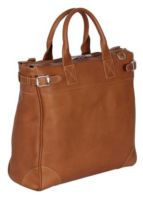 Piel Leather CROSS BODY TRAVELER TOTE