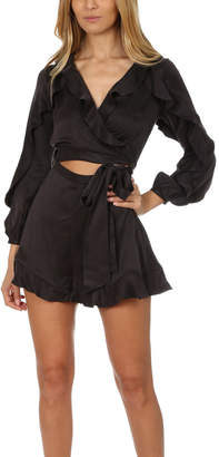 Zimmermann Ruffle Playsuit