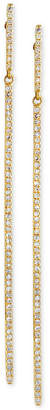 Effy D'ro by Diamond Long Linear Drop Earrings (1/3 ct. t.w.) in 14k Gold