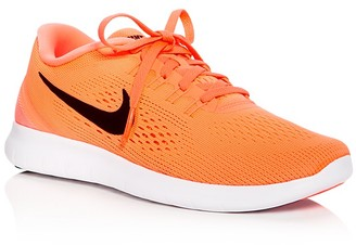 Nike Women's Free Run Natural Lace Up Sneakers $100 thestylecure.com