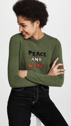 Bella Freud Peace and Love Sweater