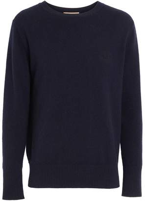 Burberry Embroidered Archive Logo Cashmere Sweater
