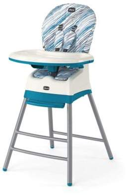 Chicco Chicco® StackTM 3-in-1 High Chair in Blue/White