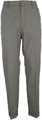 Bottega Veneta Check Trousers