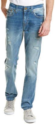 True Religion Rocco Worn Riff Straight Leg