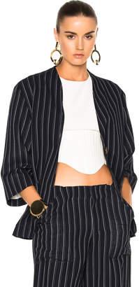 Acne Studios Jada Suit Jacket $649 thestylecure.com