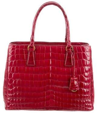 0b0178f4504 Prada Crocodile Handbags - ShopStyle