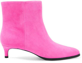 3.1 Phillip Lim Agatha Suede Ankle Boots - Pink