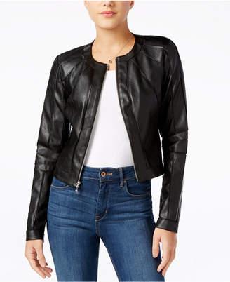 GUESS Ivonne Faux-Leather Moto Jacket