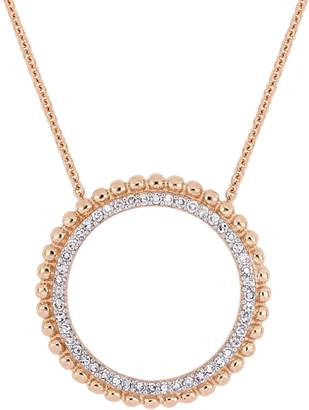 Rina Limor Fine Jewelry Women's 14K Rose Gold & Diamond Pendant Necklace