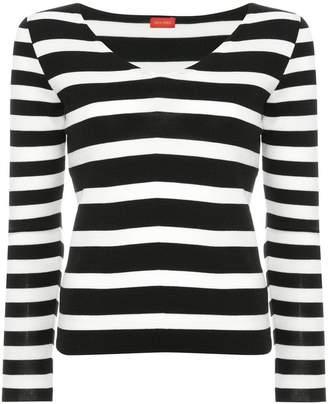 TOMORROWLAND (トゥモローランド) - Des Prés striped knit sweater