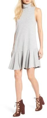 Women's Leith Mock Neck Shift Dress $59 thestylecure.com