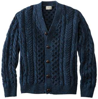 Men's Heritage Sweater, Irish Fisherman's Cardigan