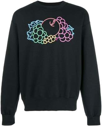 Cédric Charlier Fruit of the Loom gradient sweatshirt