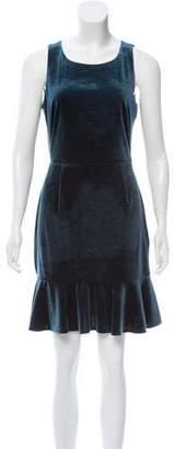 Rebecca Minkoff Sleeveless Velour Mini Dress w/ Tags