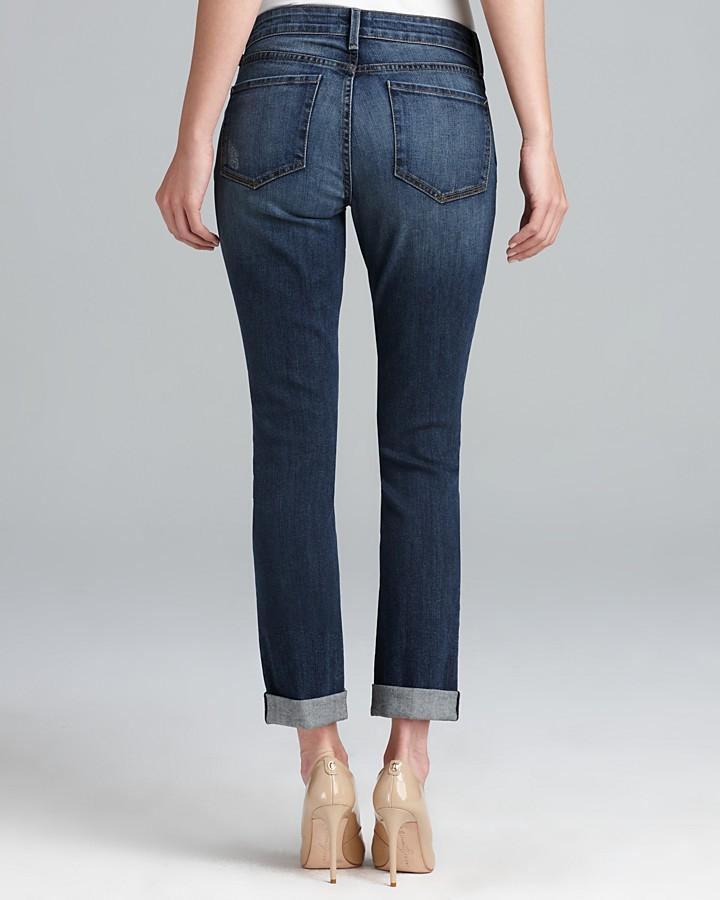NYDJ Leann Roll Boyfriend Jeans