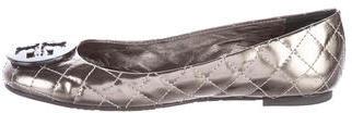 Tory BurchTory Burch Metallic Reva Flats