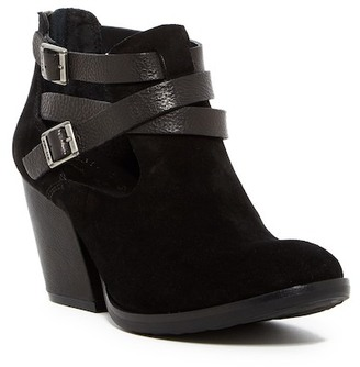 Kork-Ease Stina Buckle Strap Bootie $190 thestylecure.com