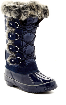 Khombu Bryce Faux Fur Lined Boot $129 thestylecure.com