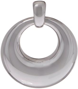 NUOVO Oro Polished Circle Pendant, 14K