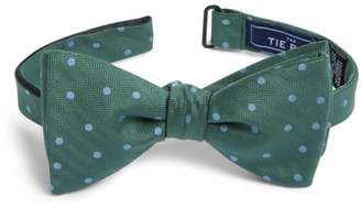 The Tie Bar Jackson Dot Silk Bow Tie