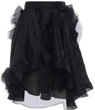 Ermanno Scervino Asymmetric Ruffled Skirt