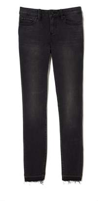 Vince Camuto Raw-hem Jeans