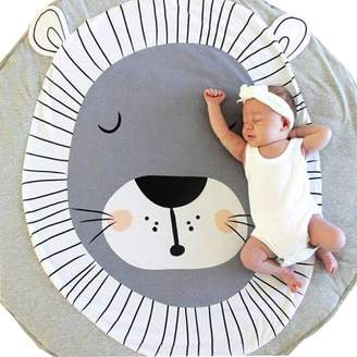 FANOUD Baby Children Cartoon Rug Carpet Pad with Animal Soft Christmas Mat for Baby Creeping