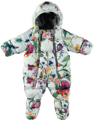 Molo Hebe Floral-Print Quilted Bunting, Size 3-12 Months