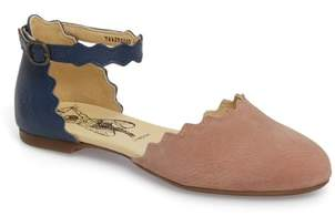 Fly London Megs Scalloped Flat