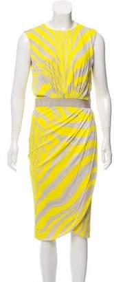 Giambattista Valli Printed Midi Dress