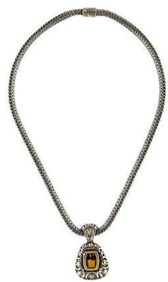John Hardy Citrine Jaisalmer Pendant Necklace silver Citrine Jaisalmer Pendant Necklace
