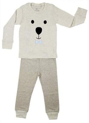 """Elowel Pajamas Elowel """"Teddy Bear Face"""" 2 Piece Pajama Set 100% Cotton - Years"""