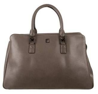 Versace Leather Handle Bag brown Leather Handle Bag