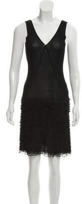 Chanel Rib Knit Mini Dress