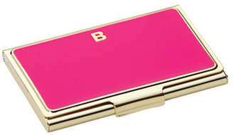 Kate Spade One In A Million Initial Business Cardholder B