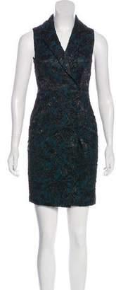 Yigal Azrouel Brocade Mini Dress