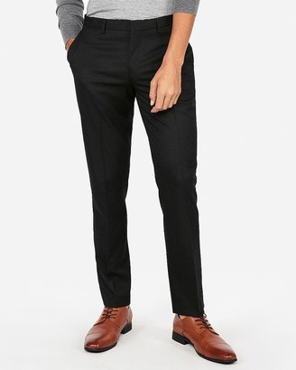 Express Slim Stretch Wrinkle-Resistant Lightweight Flannel Dress Pant