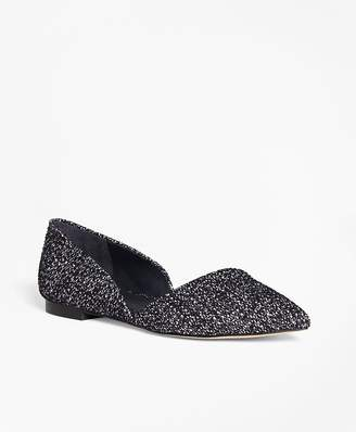 Leather Boucle d'Orsay Flats $148 thestylecure.com