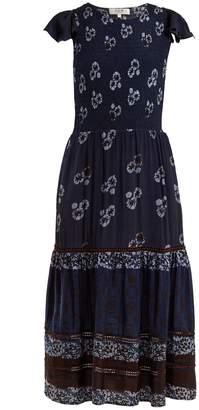 Sea Malaya floral-print midi dress