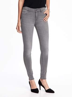 Old Navy Mid-Rise Gray-Wash Rockstar Super Skinny Jeans for Women