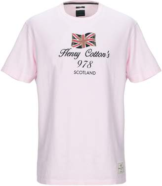Henry Cotton's T-shirts - Item 12340111UJ