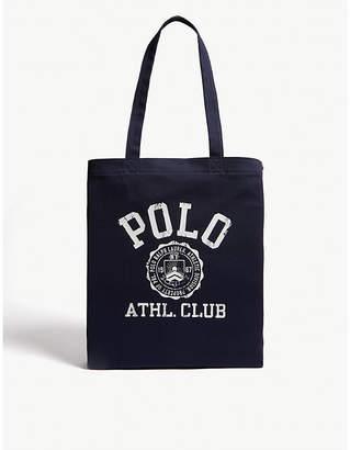 Polo Ralph Lauren Preppy logo canvas tote