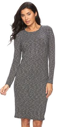 Women's Apt. 9® Ribbed Midi Dress $50 thestylecure.com