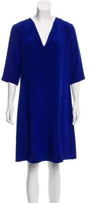 Peter Cohen Silk Knee-Length Dress