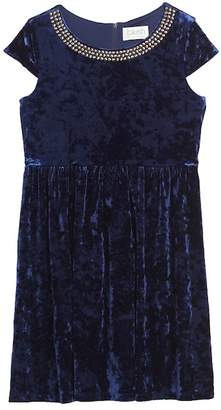 Blush by Us Angels Velvet Dress (Big Girls)