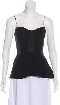 Elizabeth and James Sleeveless Bustier Top