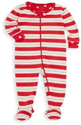 Hatley Baby Girl's Striped Footie